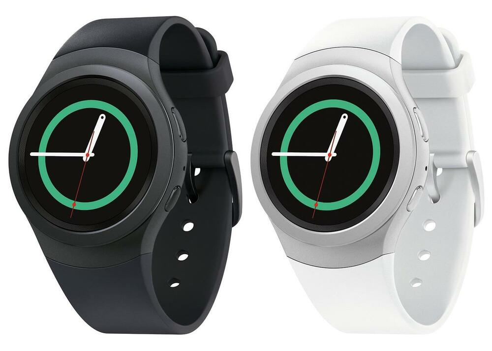 Samsung gear s2 sm r730v verizon wi fi 4gb 1 2 smart watch for android os ebay for Watches gear