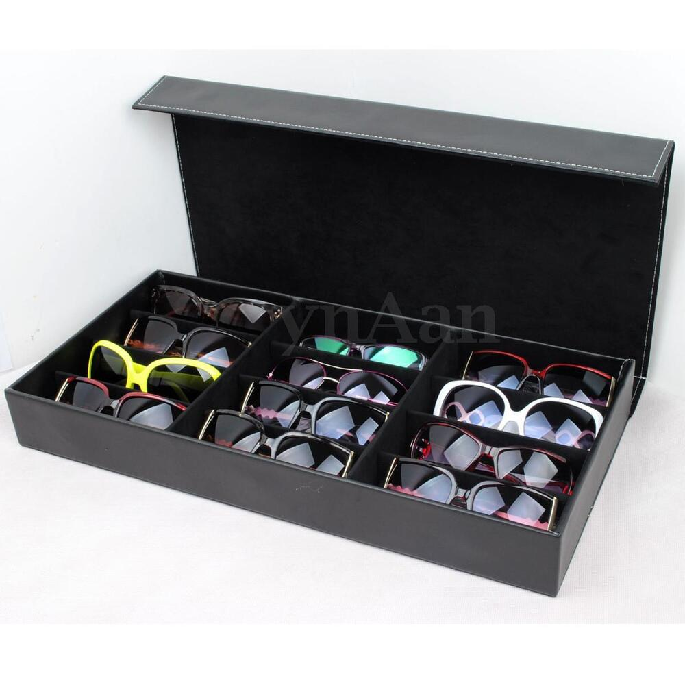 Exhibition Stand Storage : Slot grid eyeglass sunglasses glasses storage display