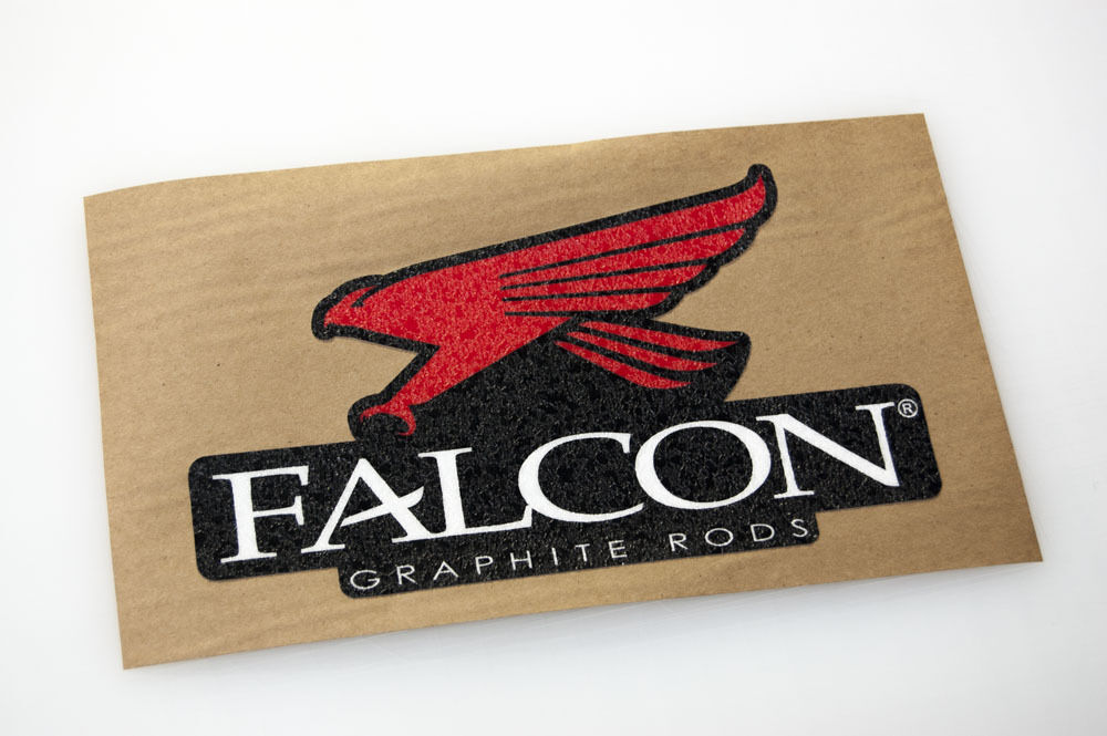 Falcon Rods Bass Boat Carpet Graphic Multiple Sizes