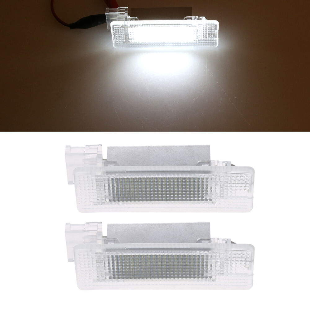 White 18 Led Smd Lamp Car Trunk Luggage Compartment Light For Vw Golf 4 5 6 Polo Ebay