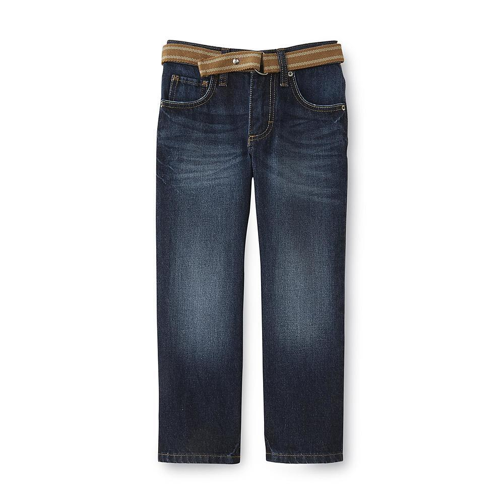 PD&C Boys Straight Leg Jeans Size 6 Slim With Adjustable Waist Size:6 Slim. $ or Best Offer. Free Shipping. SPONSORED. Tea NEW Dark Wash Blue Boys Size 6 Four-Pocket Button-Front Jeans $49 Brand New · Size