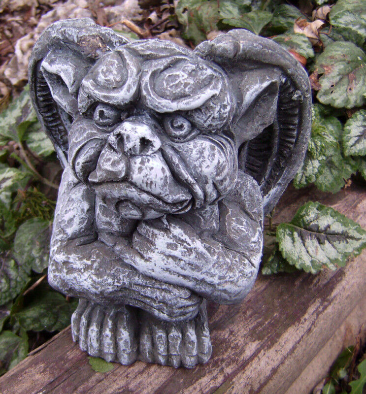 Latex Gargoyle Mold With Plastic Backup Plaster Concrete