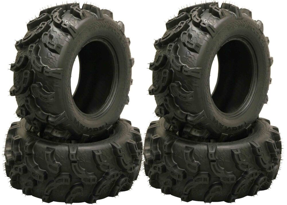 set of 4 new prem wanda atv utv tires at25x10 12 25x10x12. Black Bedroom Furniture Sets. Home Design Ideas