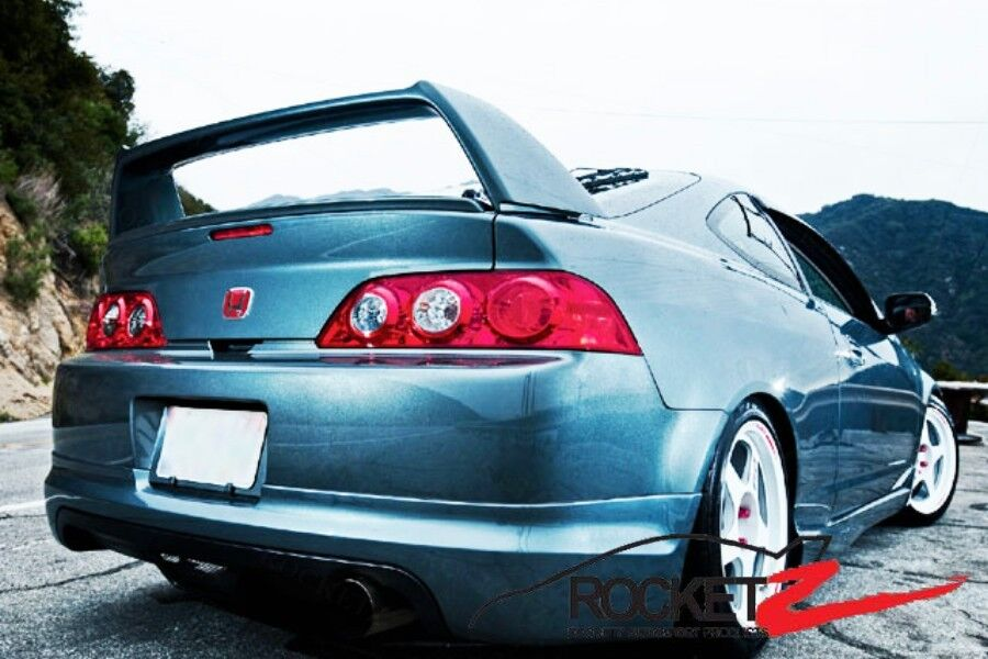 2002 2006 acura rsx jdm type r dc5 k20 rear trunk spoiler wing canada usa ebay. Black Bedroom Furniture Sets. Home Design Ideas