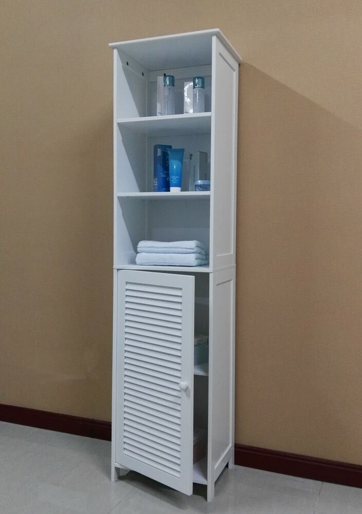 Wooden Tall Bathroom Cabinet/Linen Cabinet/Bathroom