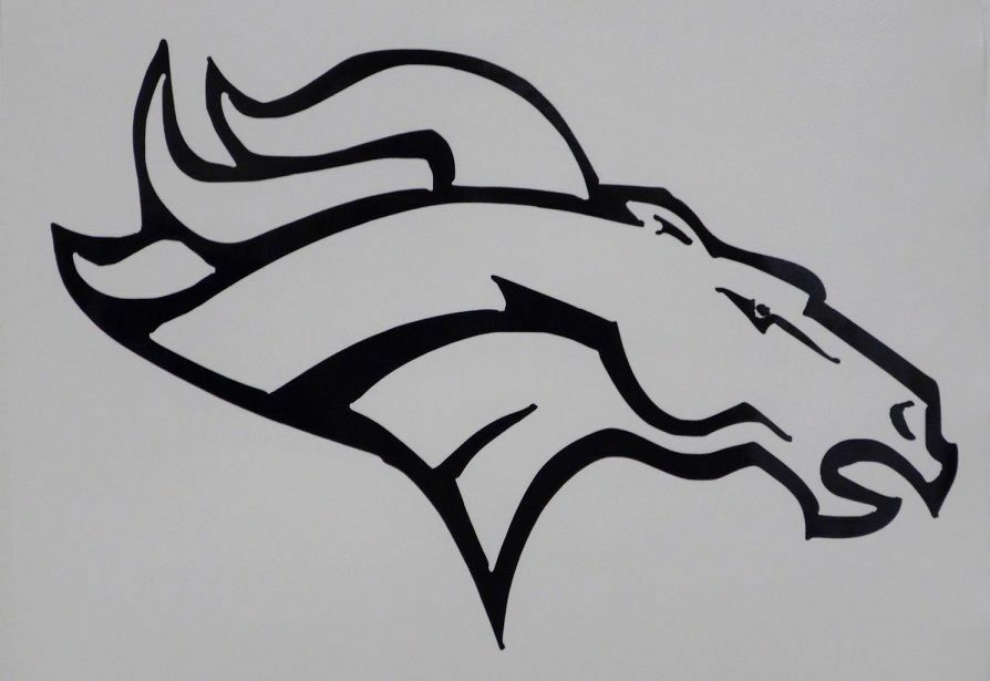 Denver broncos football nfl car truck window vinyl decal Getting stickers off glass