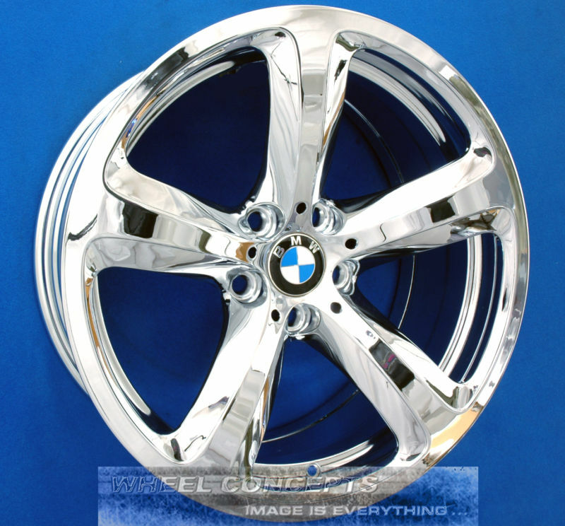 Bmw 645i 650i 19 Inch Chrome Wheel Exchange 645ci 650 Coupe Convertible 19 Quot Rims Ebay