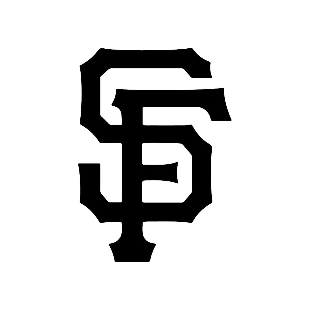 San Francisco Giants Decal Sf Bay Logo Vinyl Window Bumper