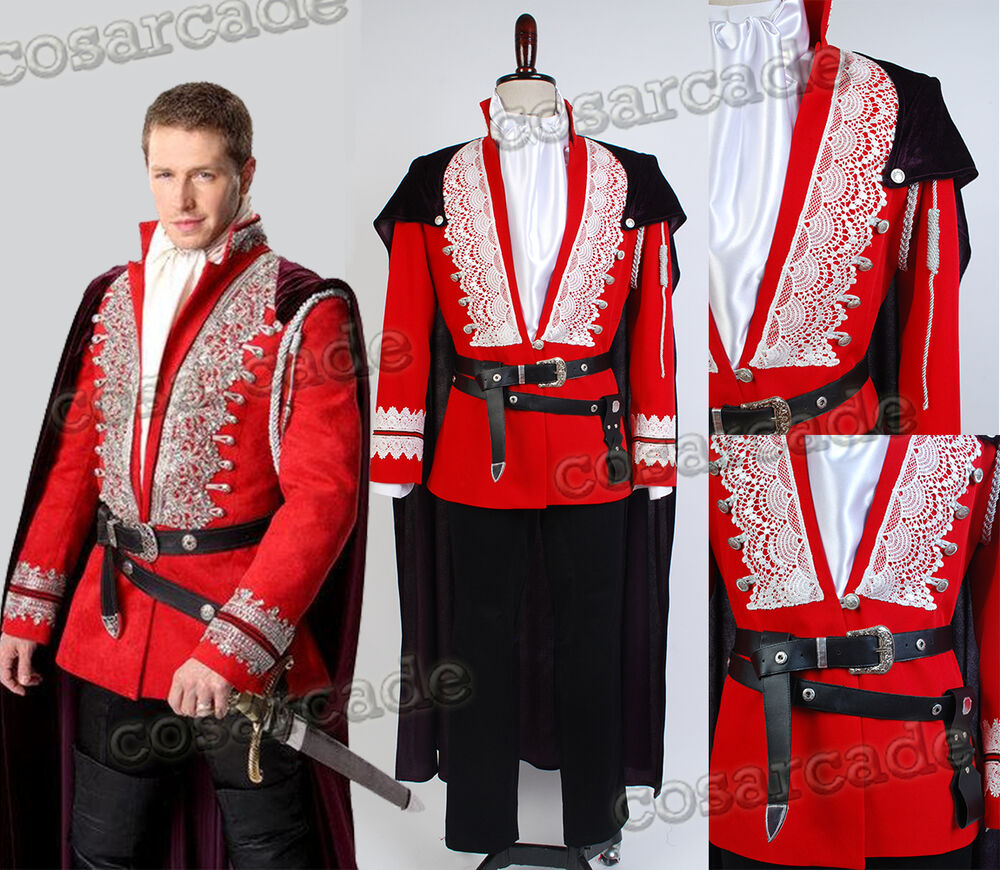 Once Upon A Time Costumes: Prince Charming Once Upon A Time Josh Dallas Cosplay