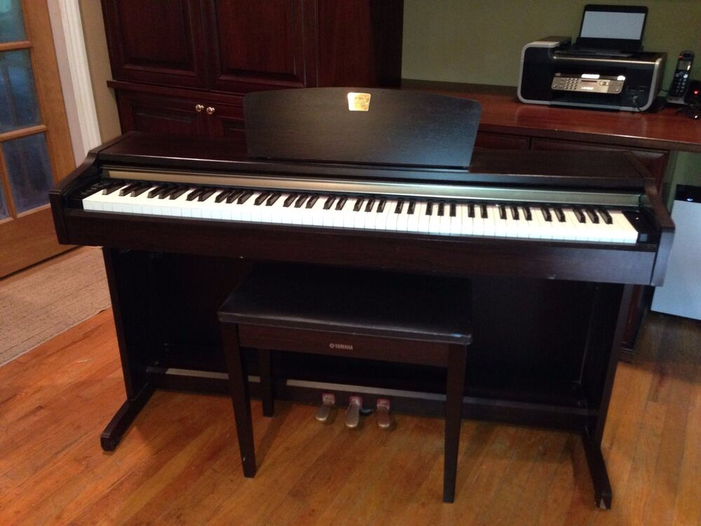 Used yamaha clavinova clp 115 piano music musical for Yamaha piano keyboard models