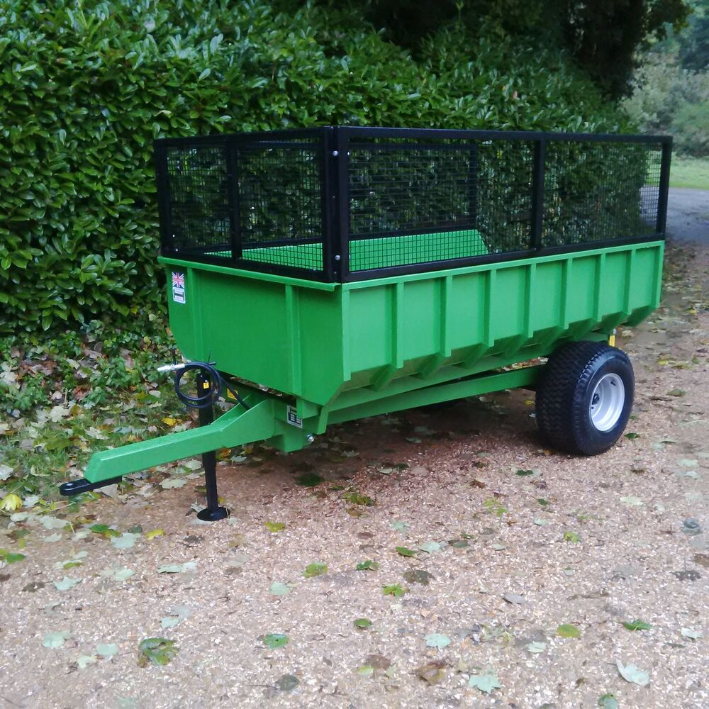 2.25 T Tipping Trailer Dump Type Farm Compact Tractor