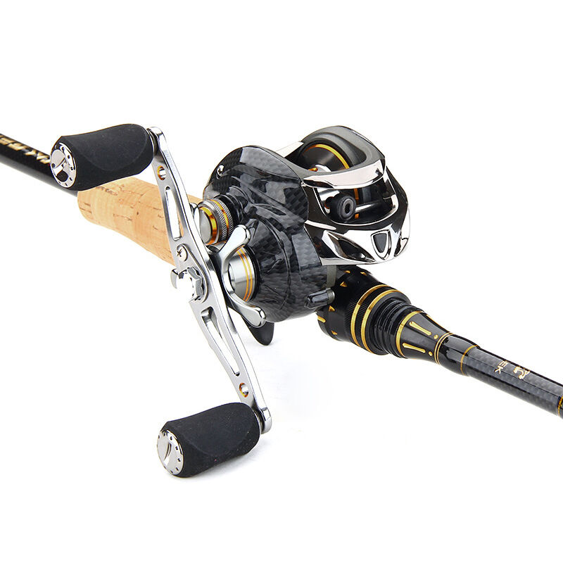 19bb baitcasting fishing reel centrifugal right left hand for Left handed fishing reels