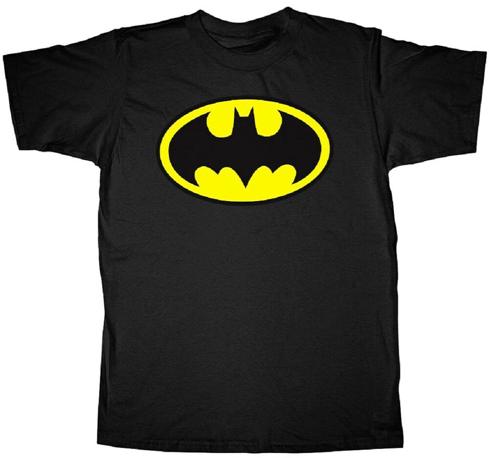 Batman CIRCUITRY SHIELD Licensed Adult T-Shirt All Sizes