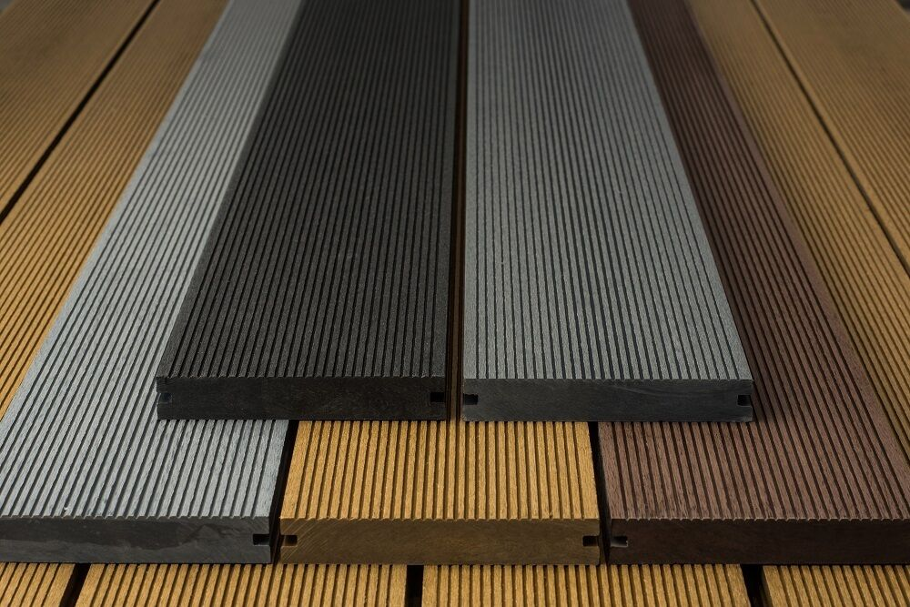 Wood Polymer Composite Board : Wpc wood composite plastic solid decking boards mm