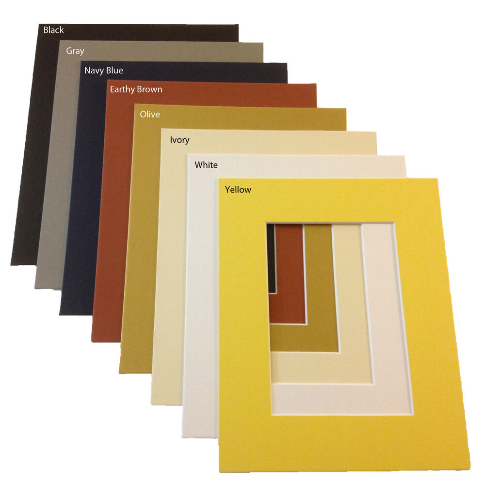 One 8 X 10 Mat Matte For 5 X 7 Photo Art Picture Frame