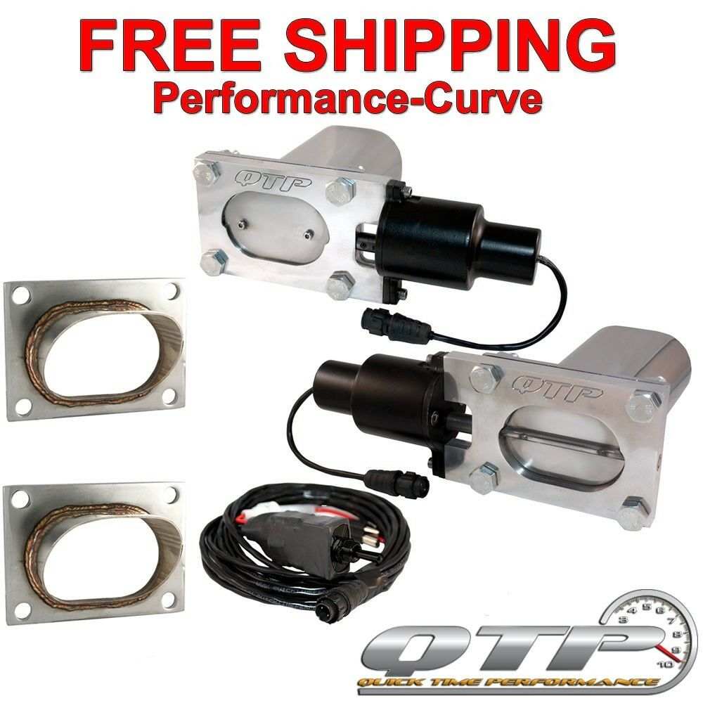 QTP Quick Time Performance Low Profile Electric Exhaust