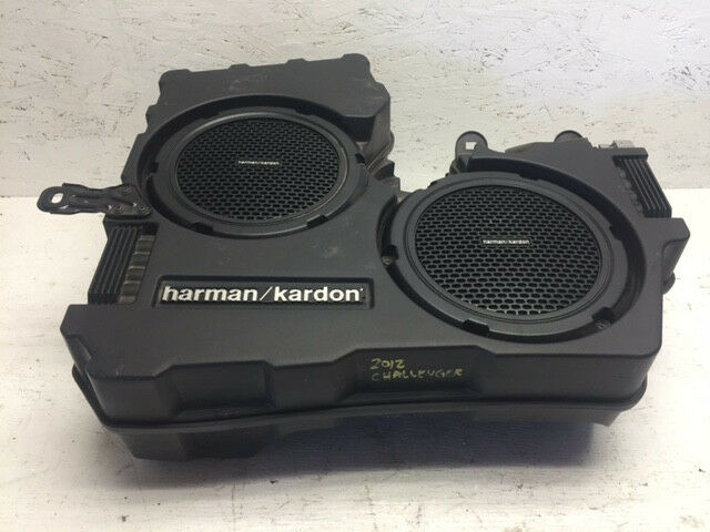 Harman Kardon Car Audio: 2012 DODGE CHALLENGER SRT SRT-8 HARMAN KARDON OEM