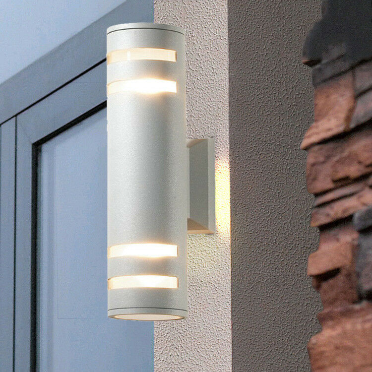 Outdoor Post Down Lighting Fixtures: 6W/8W/10W LED Outdoor Wall Mount Lamp Up/Down Light