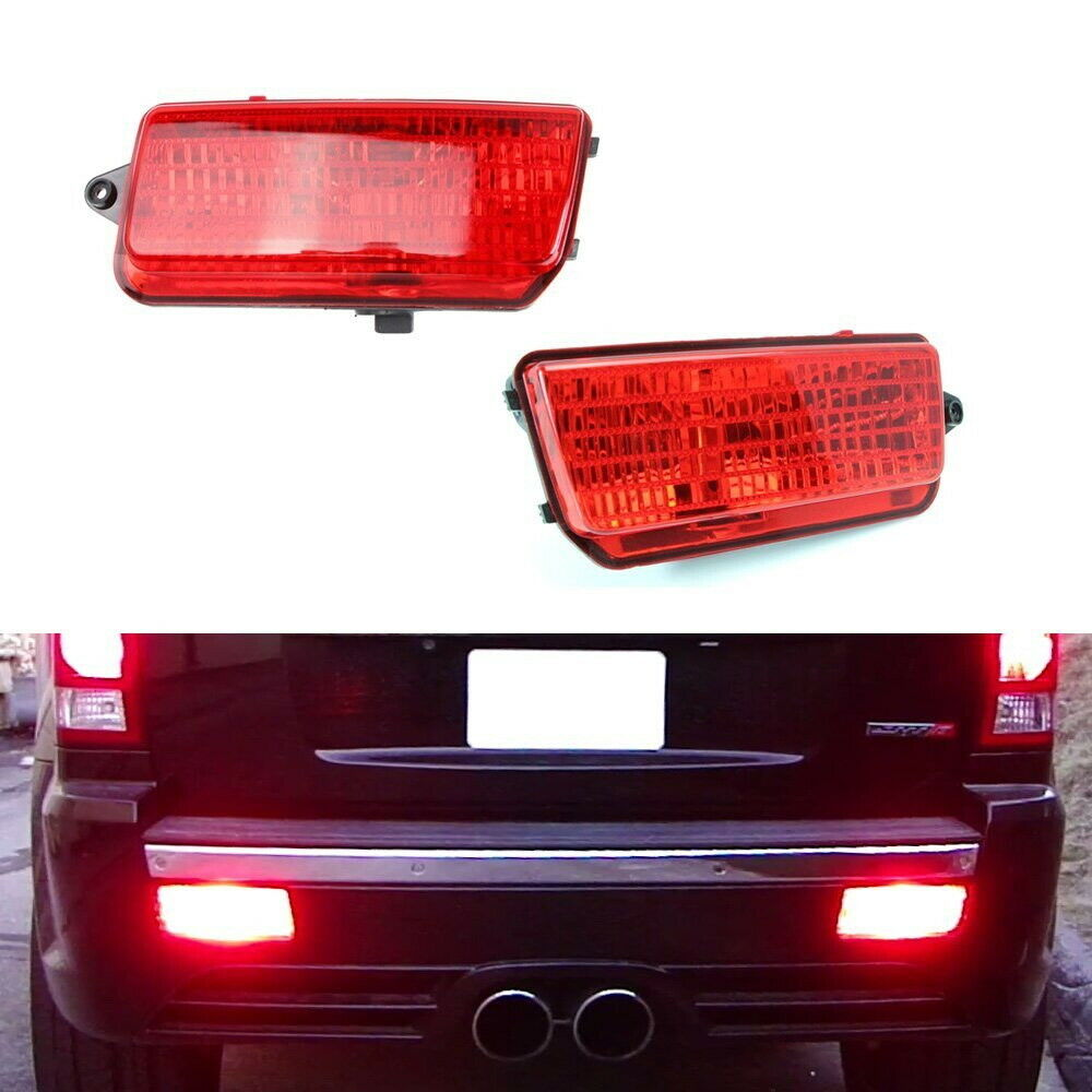 Complete set led rear fog light kit for 2005 2010 wk1 jeep - 2015 jeep grand cherokee led interior lights ...