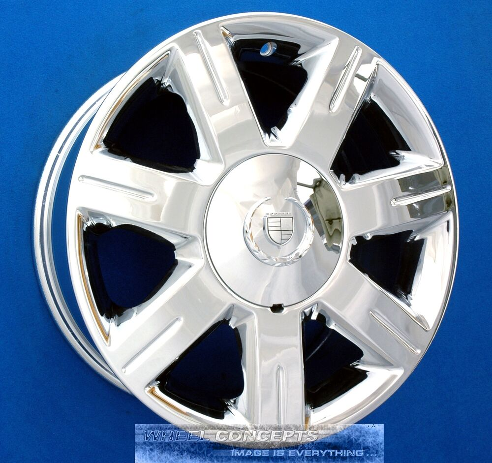07 Cadillac Dts: CADILLAC DTS 17 INCH CHROME WHEEL EXCHANGE '06-07 4600