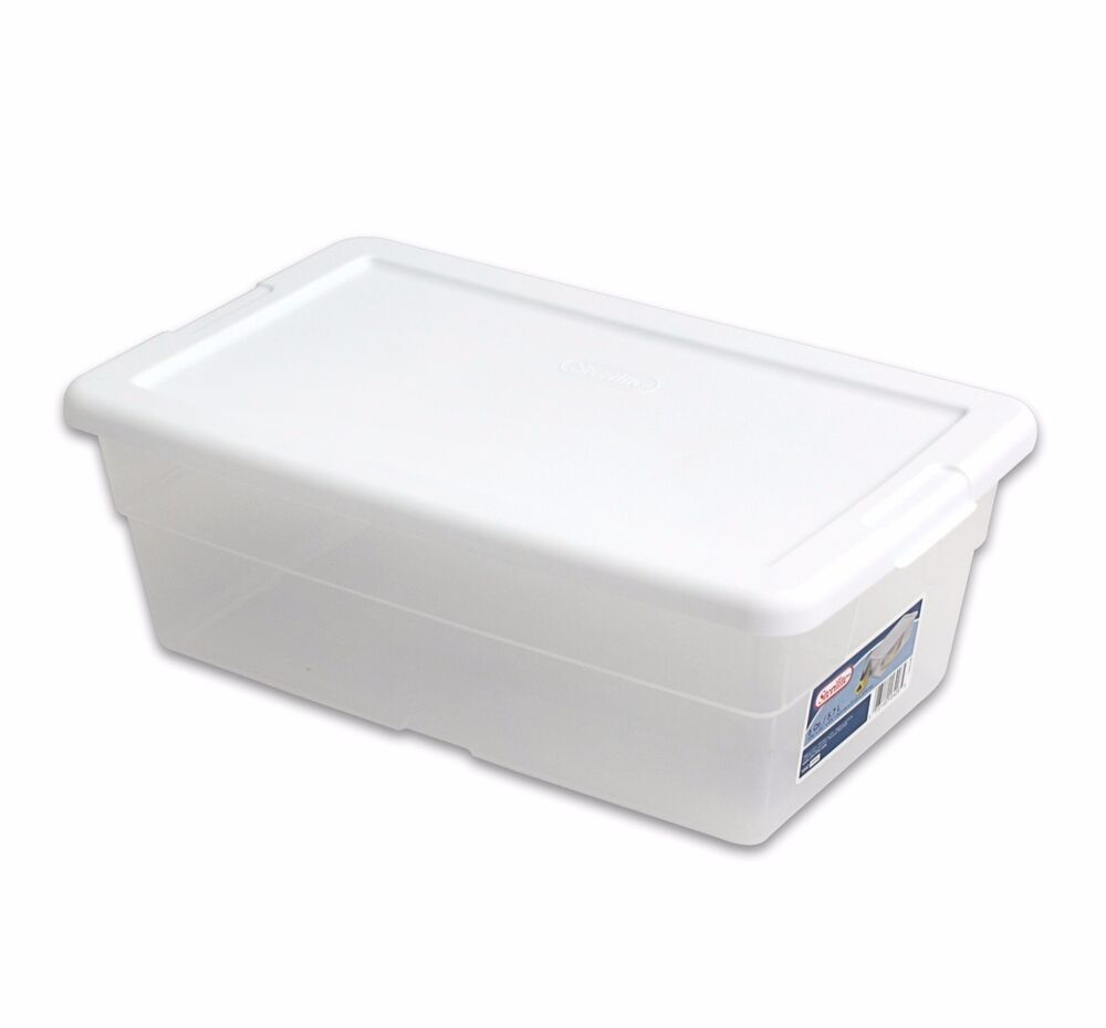 Sterilite 6 Qt Storage Box Clear Container- Pack Or 1, 6