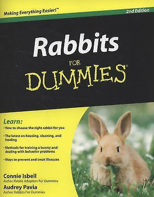 Rabbits For Dummies by Isbell, Connie; Pavia, Audrey