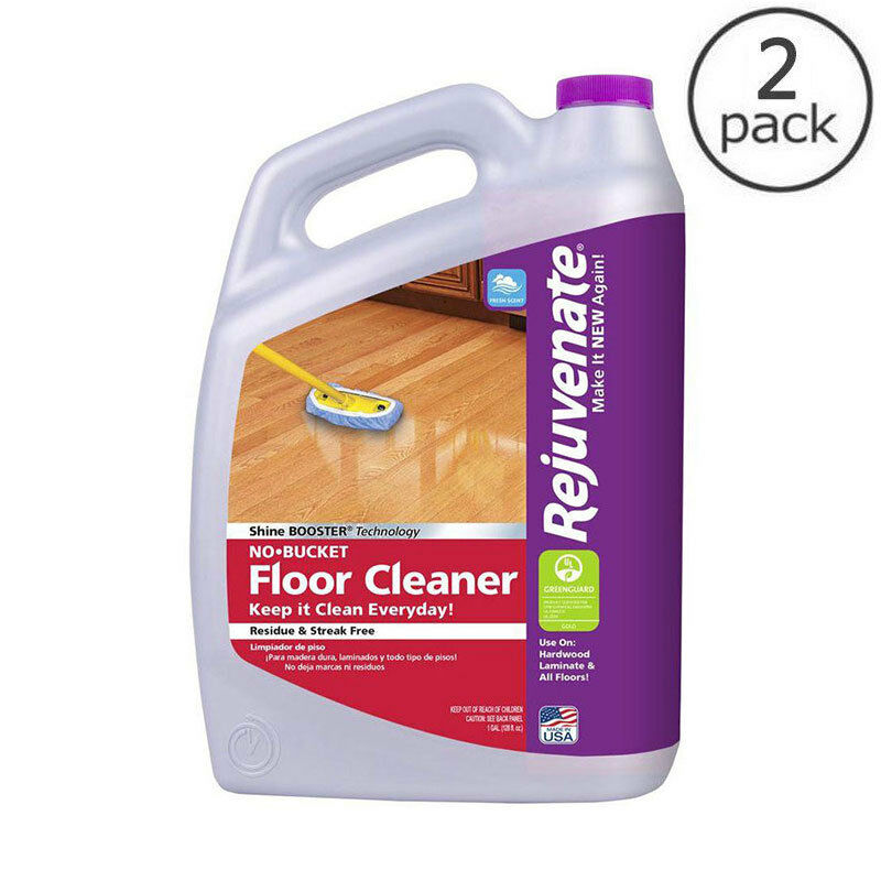 Rejuvenate 128 Oz No Bucket Floor Cleaner Laminate