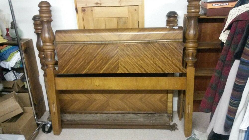Vintage Art Deco Waterfall Bedroom Furniture Ebay