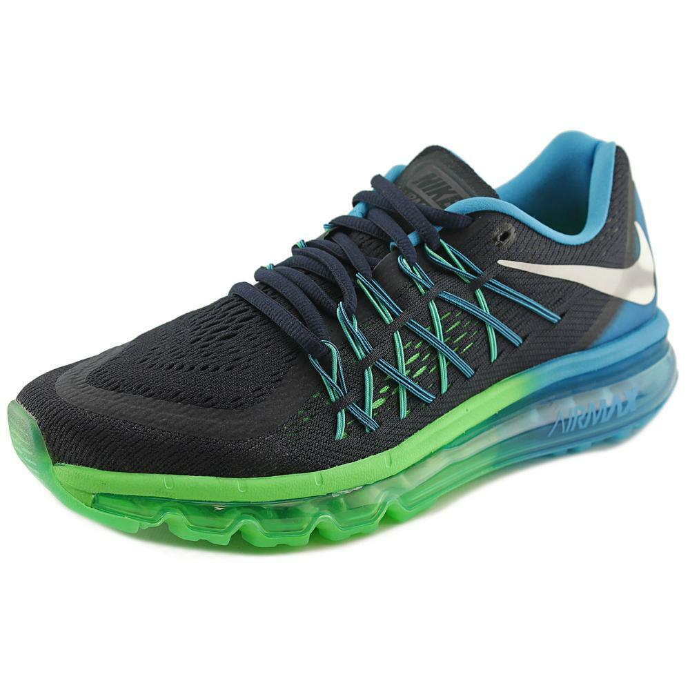 nike air max 2015 round toe synthetic running shoe ebay. Black Bedroom Furniture Sets. Home Design Ideas