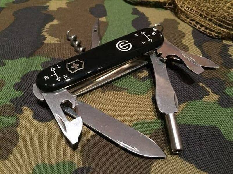 Swiss Army Knife Victorinox Fass 90 With Sight Tools