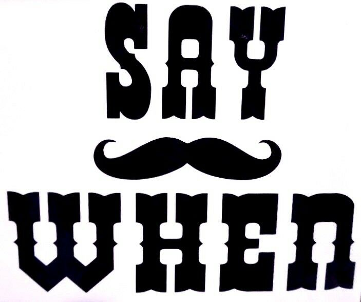 say when doc holliday cool funny car truck window vinyl