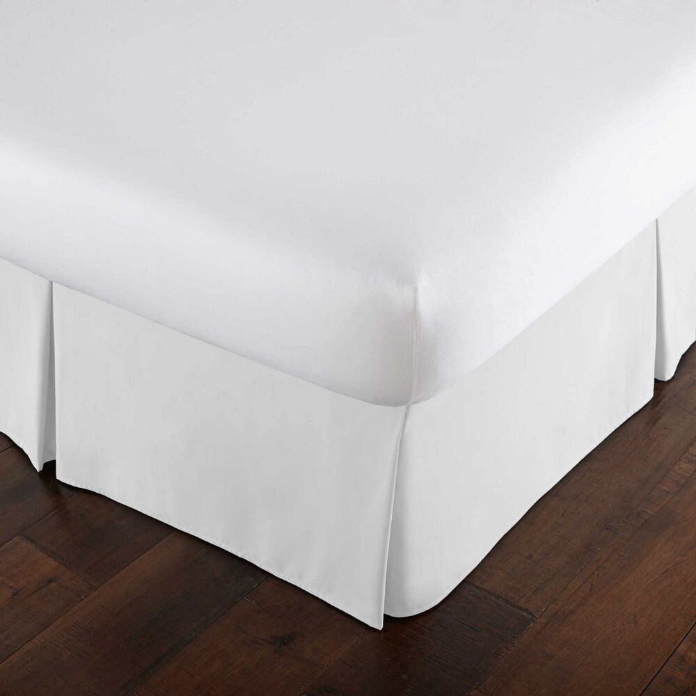 High Quality 15 Inch Drop Classic Pleated Bedskirt Ebay