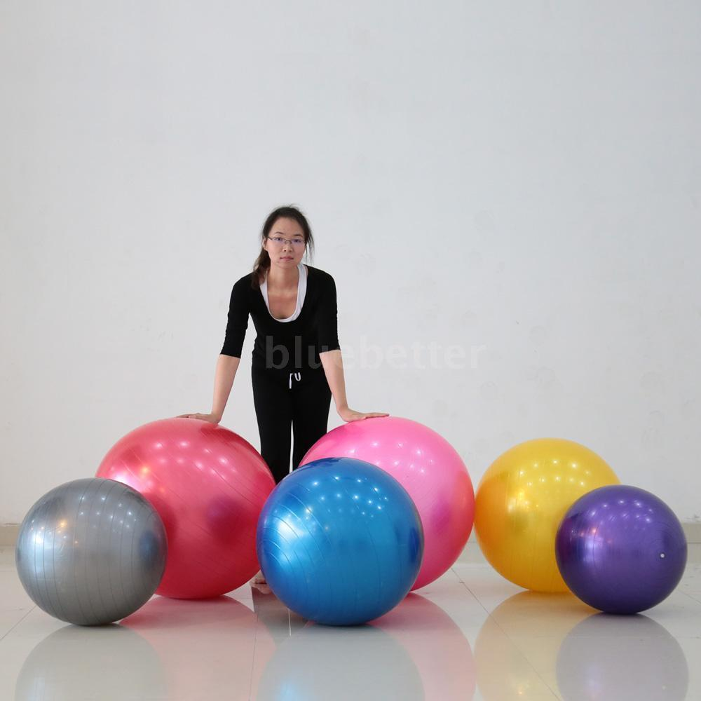 65CM Sports Balance Gym Ball Pilates Yoga Fit Exercise ...