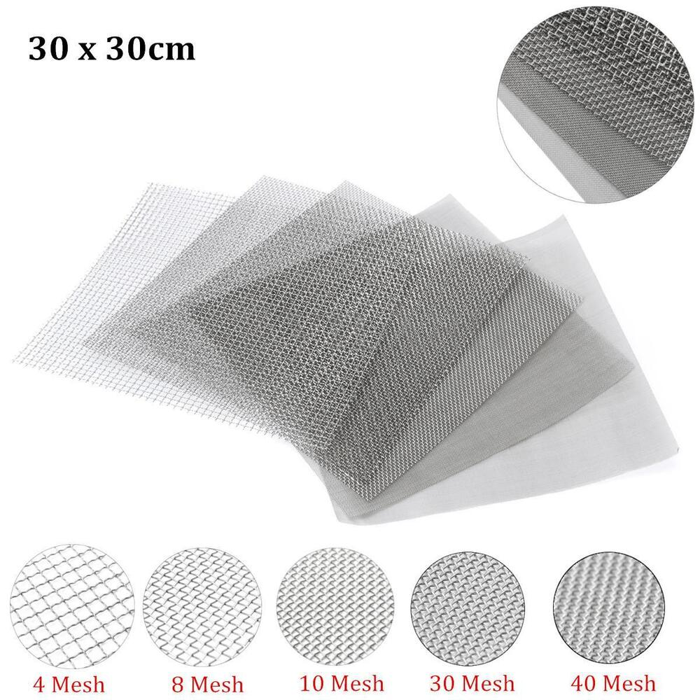 4 8 10 30 40 Mesh Stainless Steel Woven Wire Filter Fine