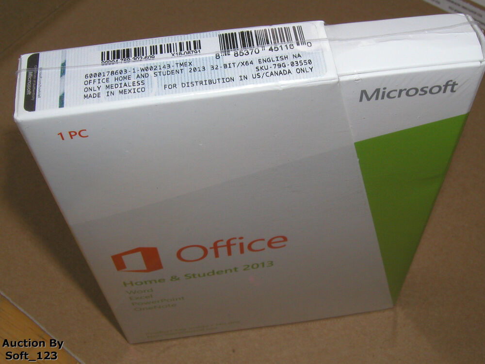 Ms Microsoft Office 2013 Home And Student Full English