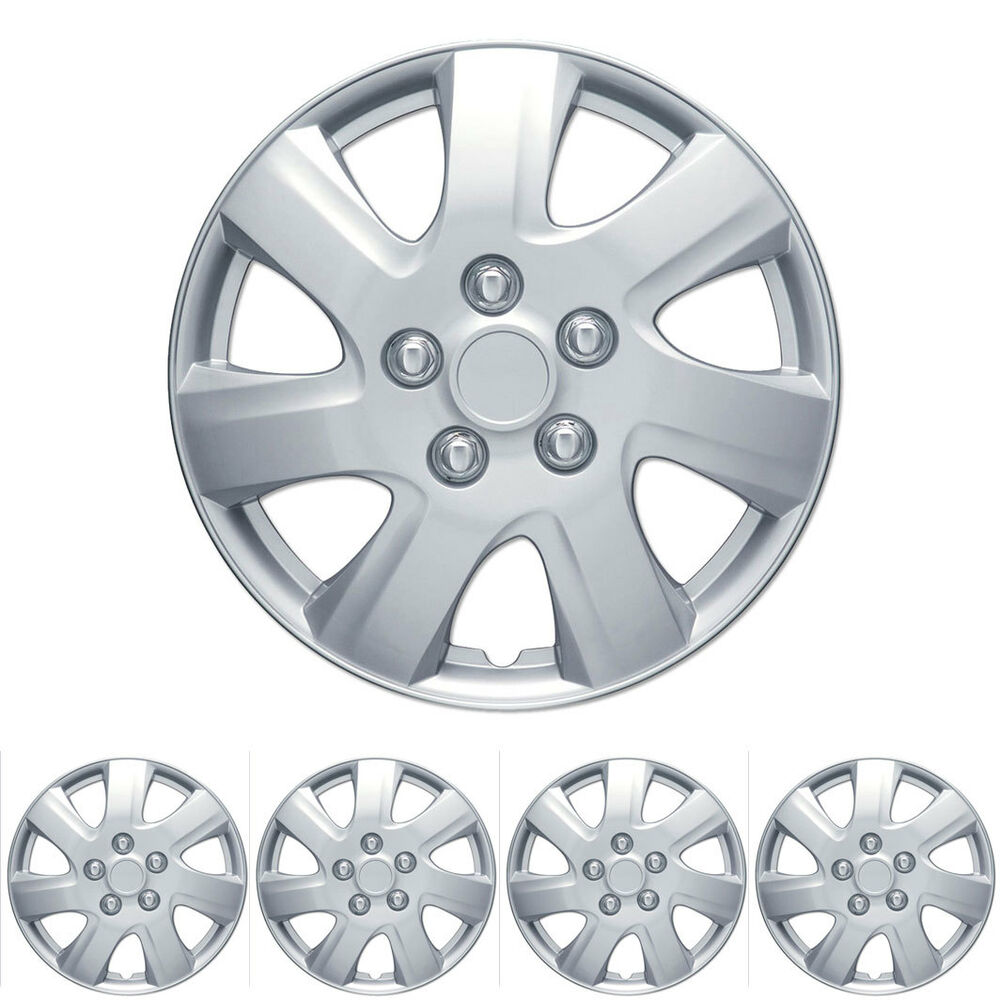 """16"""" Inch Hubcaps for Car SUV 4 PCS Wheel Cover Caps"""