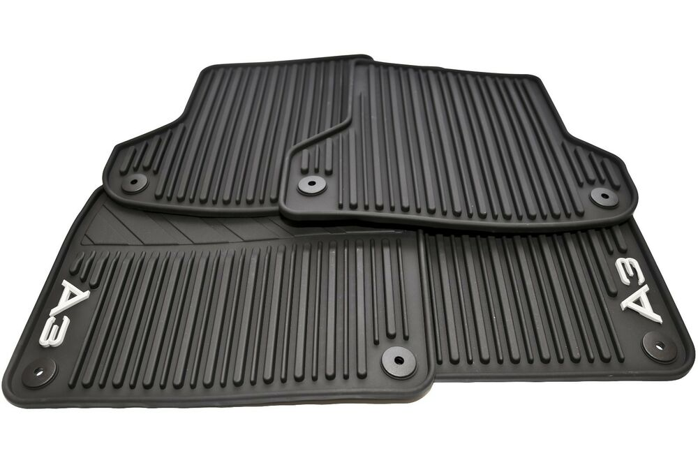 2005 13 Audi A3 All Weather Rubber Floor Mats Set Of 4
