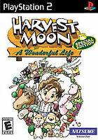 Harvest Moon: A Wonderful Life -- Special Edition (Sony PlayStation 2, 2005
