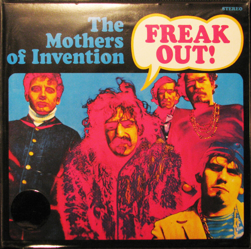 Frank Zappa Mothers Of Invention Freak Out 180g Gatefold