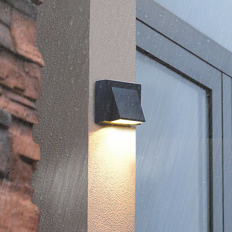 Outdoor Wall Sconce Led Light : Outdoor 3W LED Wall Sconces Light Waterproof Lamp Fixture Building Exterior Gate eBay