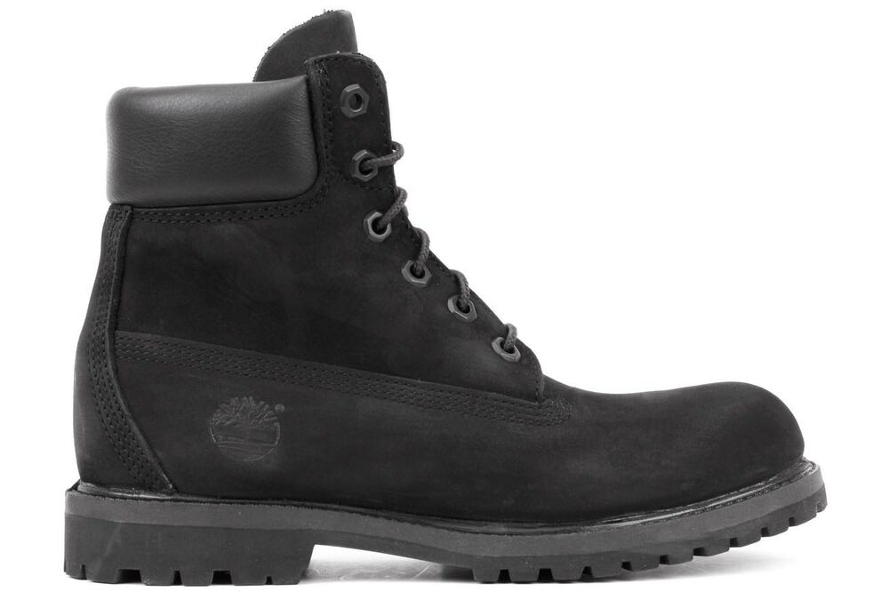 Timberland 6-Inch Premium 8658A Women's Black Smooth ...
