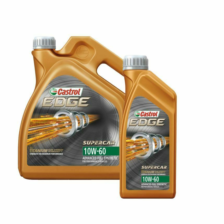 5 l 4 1 litres castrol edge supercar 10w 60 fully. Black Bedroom Furniture Sets. Home Design Ideas