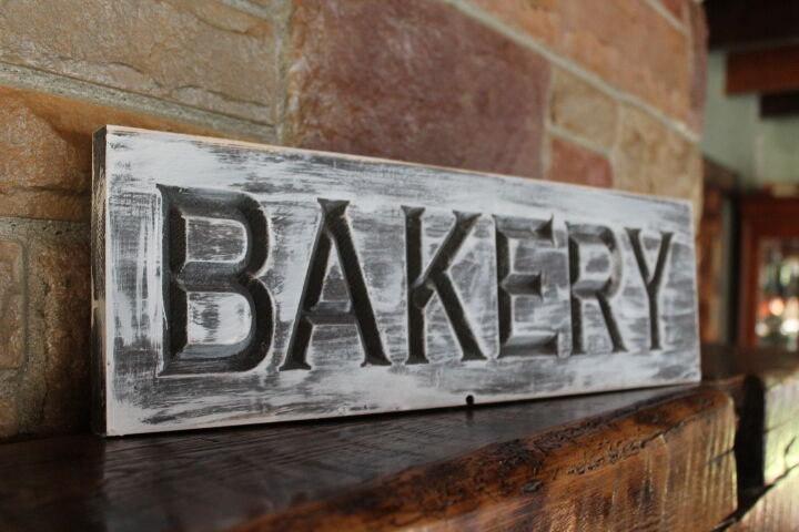 Fixer Upper Decor Farmhouse Kitchen Sign Bakery Shop