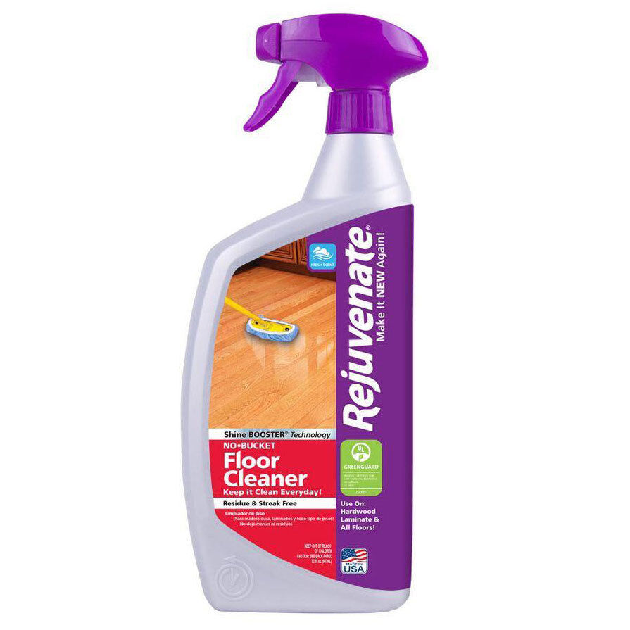 Laminate Wood Flooring Cleaner: Rejuvenate 32 Oz. No-Bucket Floor Cleaner Tile Vinyl