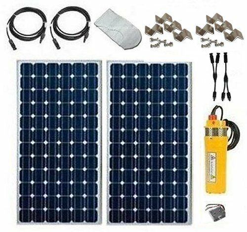Solar Well Pump Kit Low Cost Basic System Deep Well
