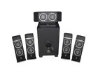 Logitech X-540 5.1 Channel Computer Speakers SET Surround Sound Subwoofer New