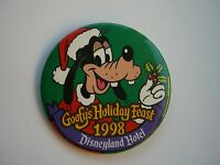 Goofy's Holiday Feast 1998, pin/button