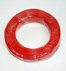 5m φ3mm 3mm Shielding Signal Cable Wire 2C 26AWG Red Tin-plated copper wire