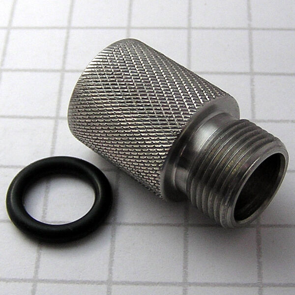 Adapter to fit air soft attachment mm ccw threaded