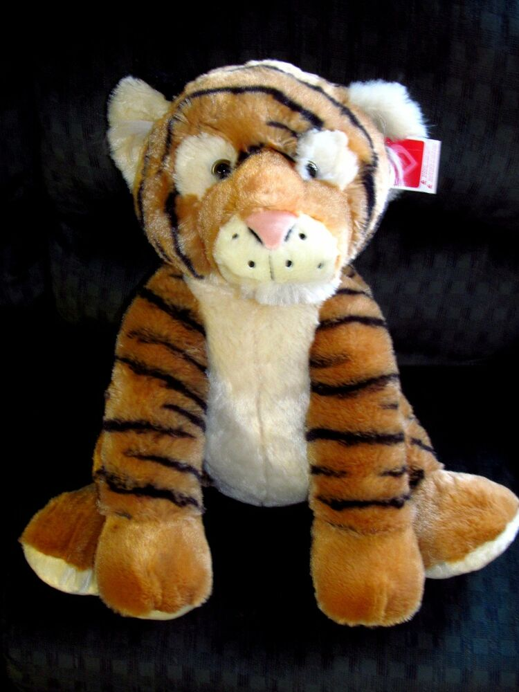 New Big Tiger 24 Quot Tall Plush Stuffed Animal Buddy Soft